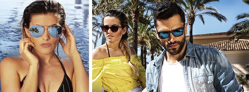 Sonnenbrillen - Genau das Richtige im Sommer!